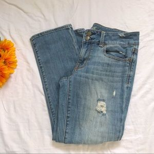 American Eagle Artist Distressed Jeans